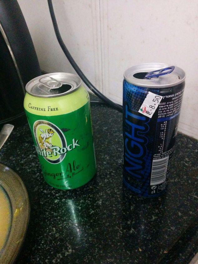 soda can wall art copycat, crafts, repurposing upcycling