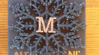 , This monogrammed snowflake ornament idea is on my Hometalk profile page