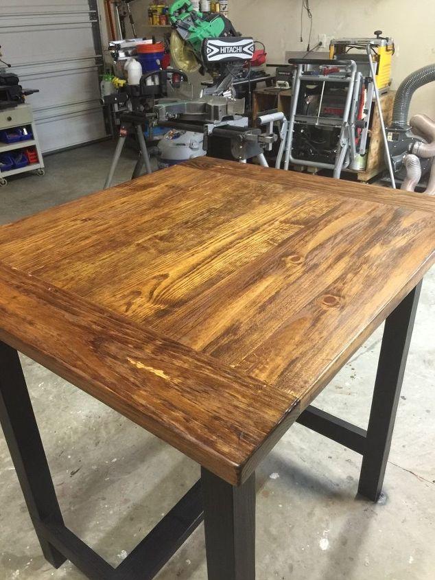 High Top Farm Table Hometalk - High top farm table
