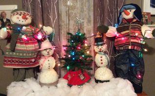 christmas snowman showgirl, christmas decorations, seasonal holiday decor