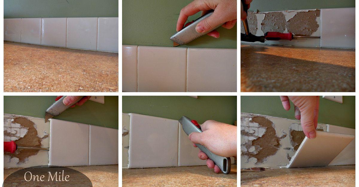 Backsplash Tiling For First Timers You Can Do It Hometalk