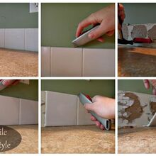 backsplash tiling for first timers you can do it, diy, kitchen backsplash, kitchen design, tiling