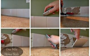 backsplash tiling for first timers you can do it, diy, kitchen backsplash, kitchen design, tiling