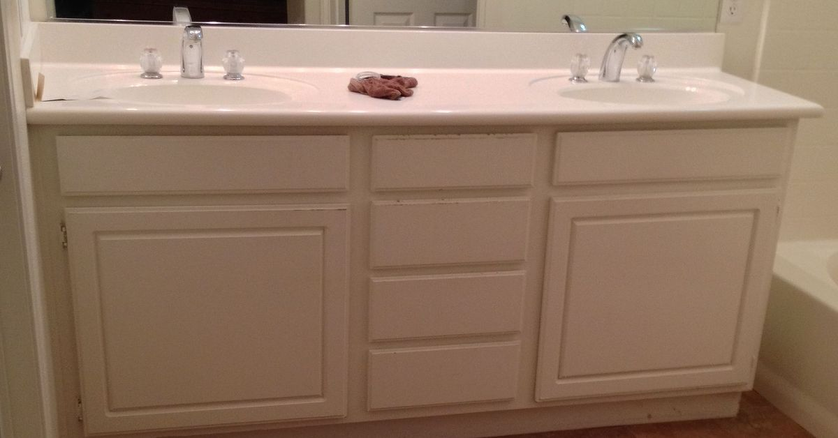 Adding Wood Feet To A Bathroom Vanity Hometalk