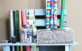 Easy Gift Wrap Station
