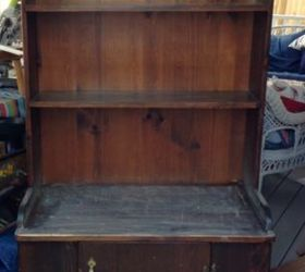 Good A Merry Red Country Cupboard, Chalk Paint, Painted Furniture, Rustic  Furniture
