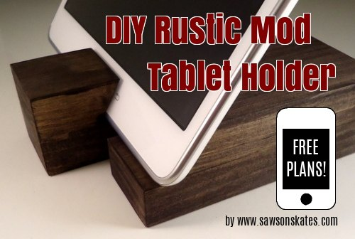 Easy Scrap Wood Diy Tablet Holder Hometalk