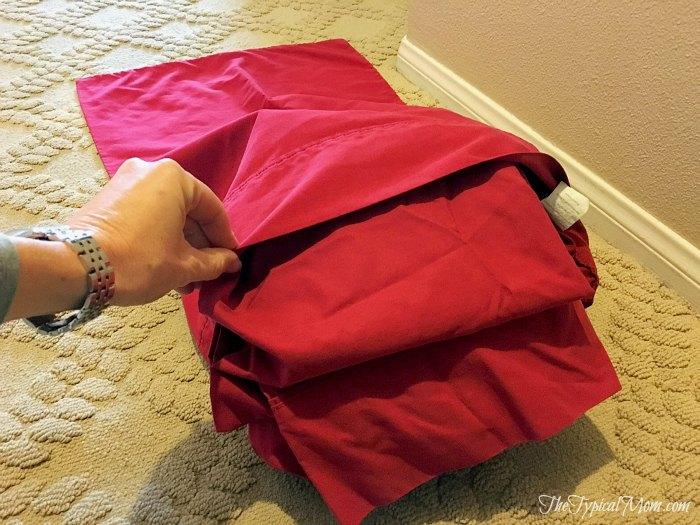 linen closet organization hack, closet, laundry rooms, organizing