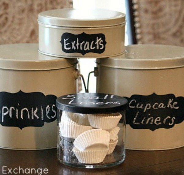 s 8 clever things to do with empty christmas tins, organizing, repurposing upcycling, seasonal holiday decor, storage ideas, Countertop Container Set