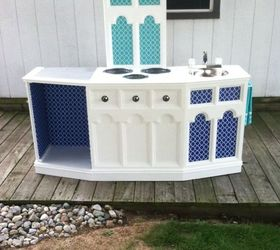 Little Girls Dream Kitchen Repurpose Upcycle, Diy, Painted Furniture,  Repurposing Upcycling