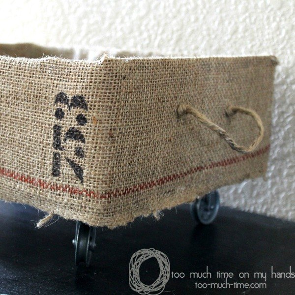 s 15 brilliant ways to reuse your empty cardboard boxes, home decor, repurposing upcycling, Add Wheels for a Rolling Toy Crate