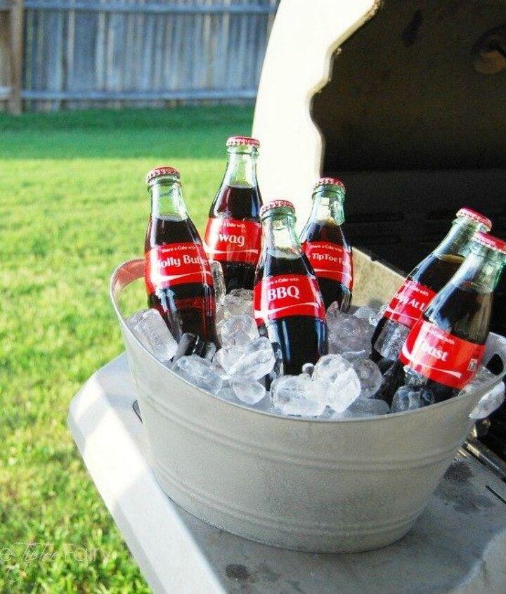 s here are 10 genius organizing ideas using dollar store bins baskets, organizing, storage ideas, Make them into galvanized outdoor treasures