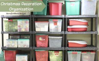 christmas decoration organization, christmas decorations, cleaning tips, organizing, seasonal holiday decor, storage ideas