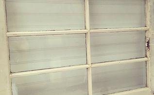 old wood window repurpose to towel rack, bathroom ideas, repurposing upcycling, wall decor, windows