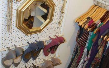 Framed Fabric Shoe Organizer