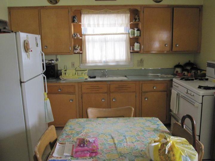 original kitchen design. kitchen remodel original 1950s to now  diy home improvement backsplash Kitchen Remodel Original Now Hometalk