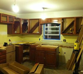 Kitchen Remodel Original 1950s To Now, Diy, Home Improvement, Kitchen  Backsplash, Kitchen