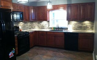 kitchen remodel original 1950s to now, diy, home improvement, kitchen backsplash, kitchen cabinets, kitchen design, tiling