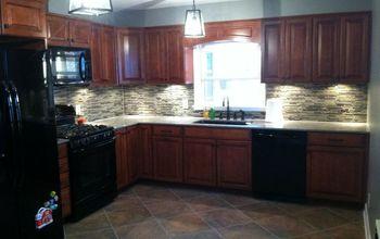 kitchen remodel original 1950s to now, diy, home improvement, kitchen backsplash, kitchen cabinets, kitchen design, tiling