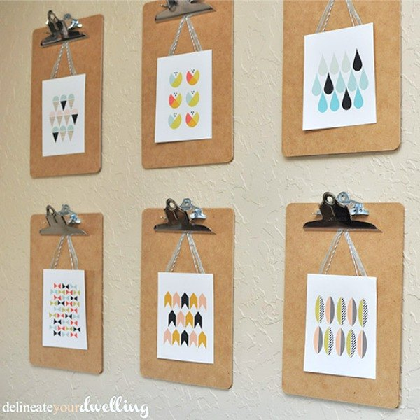 s 13 insanely creative things to do with last year s calendar, crafts, Turn Pages into Wall Decor