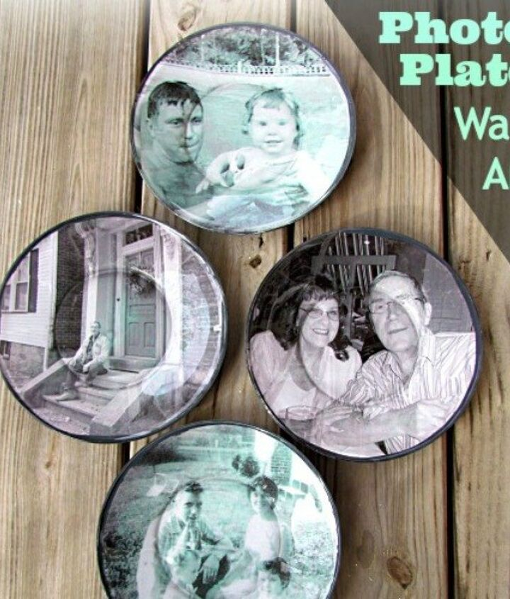 s 13 insanely creative things to do with last year s calendar, crafts, Make Picture Plate Art