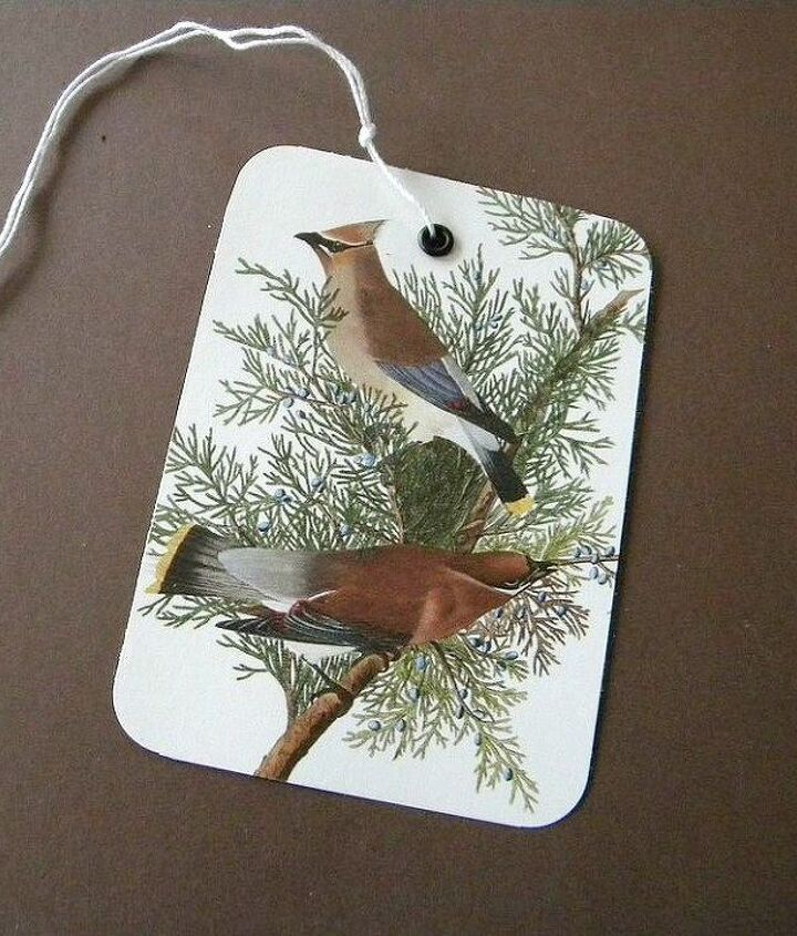 s 13 insanely creative things to do with last year s calendar, crafts, Use Scraps as Gift Tags