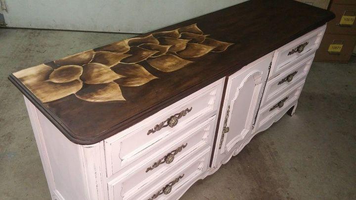 Shabby Chic Drexel Dresser Revival