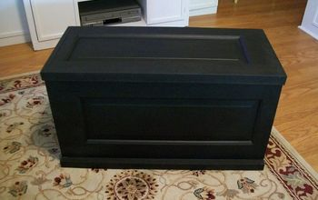 How to Turn a Door Into a Blanket Chest