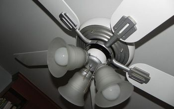 Update an Old Ceiling Fan With Spray Paint!