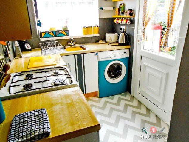 Kitchen Tour: Funky and Retro | Hometalk