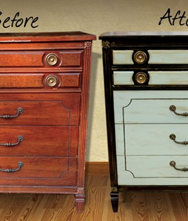 easy dresser update how to paint, painted furniture