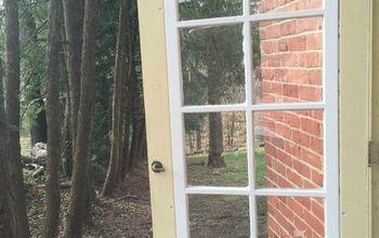 off the hinge diy sliding door, diy, doors, woodworking projects