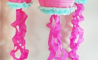 jellyfish decorations, bedroom ideas, crafts, wall decor