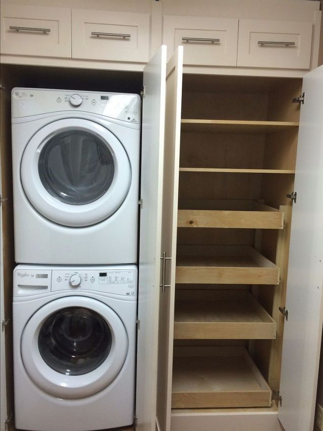 Laundry Pantry Combination Remodel