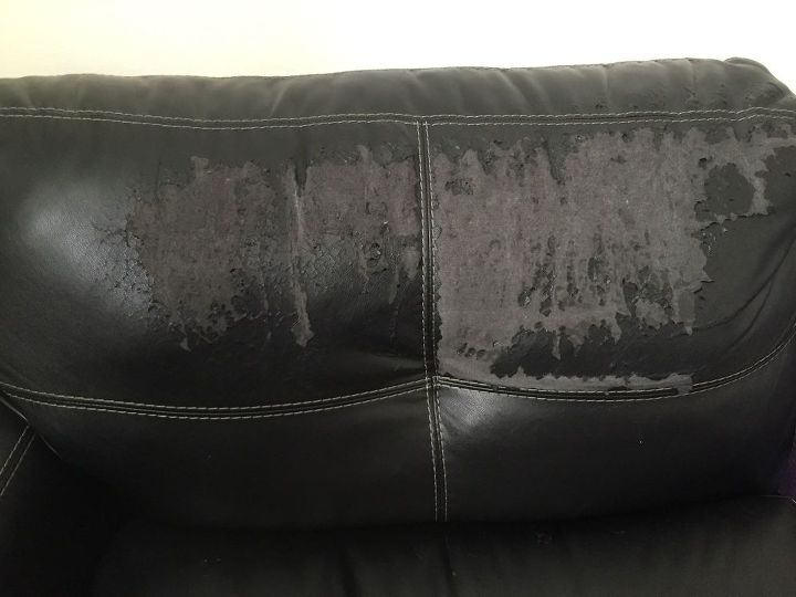 Repairing Leather Or Faux Leather Sofa Back Hometalk