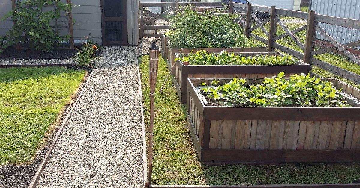Using Pallets To Make Raised Garden Beds Hometalk