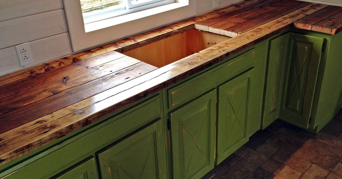 Rustic Kitchenette Made from Various Peices of Furniture | Hometalk