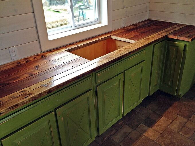 everything but the kitchen sink, countertops, diy, kitchen cabinets, kitchen design, rustic furniture, woodworking projects