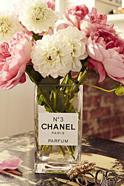 """Chanel """"N03"""" Perfume Vase"""