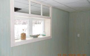 transom window mirror trick, how to, window treatments, windows