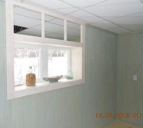 transom window mirror trick how to window treatments windows