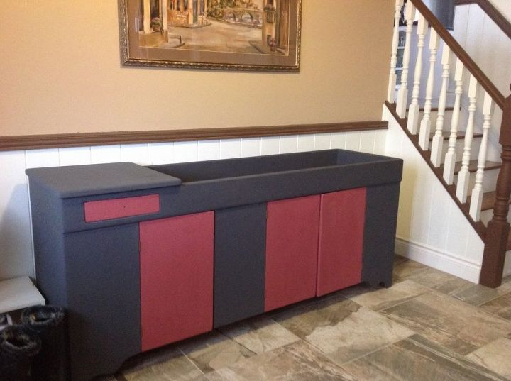q color me bad, painted furniture, painting over finishes