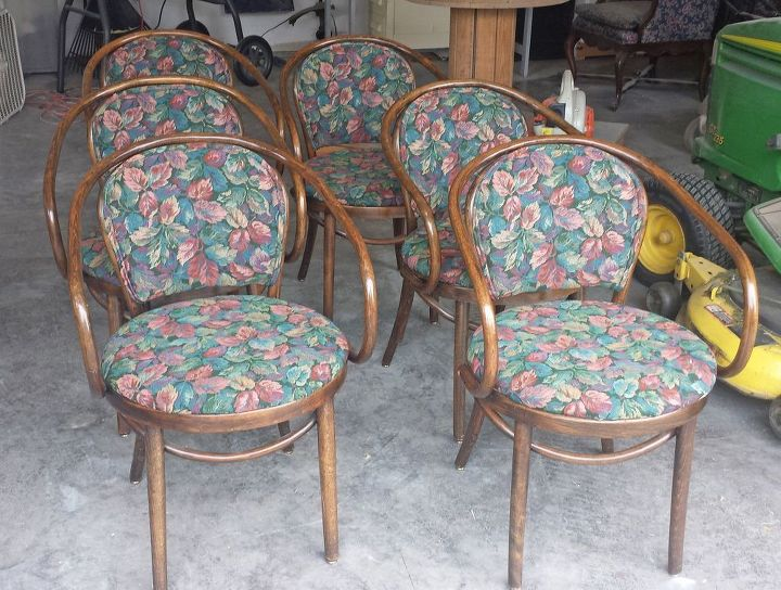 dining chairs painted furniture reupholster, painted furniture, reupholster
