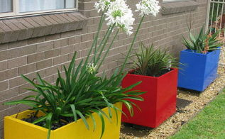 colourful painted file cabinet planters update, container gardening, gardening, repurposing upcycling
