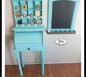 Bread Box Turned Child S Craft Station, Crafts, Painted Furniture,  Repurposing Upcycling