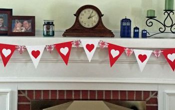 Paper Valentine Banners - Two Ways