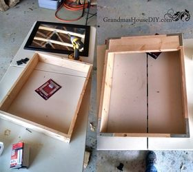 Build A Hidden Jewelry Cabinet Out Of A Mirror, Repurposing Upcycling,  Storage Ideas,