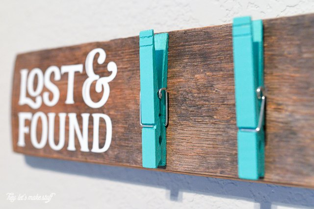 lost found sock holder diy clothspins, crafts, laundry rooms