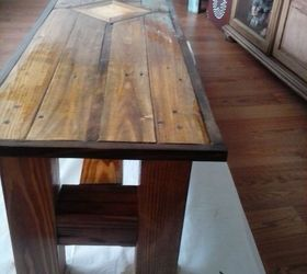 1 Pallet 4x4 Post Coffee Table Hometalk
