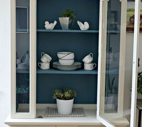 dining room hutch makeover painted furniture